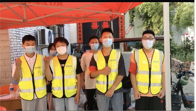 【把灾难当教材 与祖国共成长】河南工业职业技术学院青年学子奋战疫情防控一线